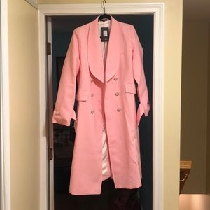 Pink Fashion Nova Down Rodeo Drive Trench Coat